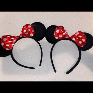 Minnie Mouse 2 Piece Ears Set